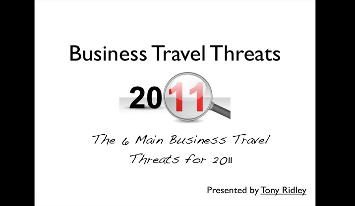 Business Travel Threats 2011